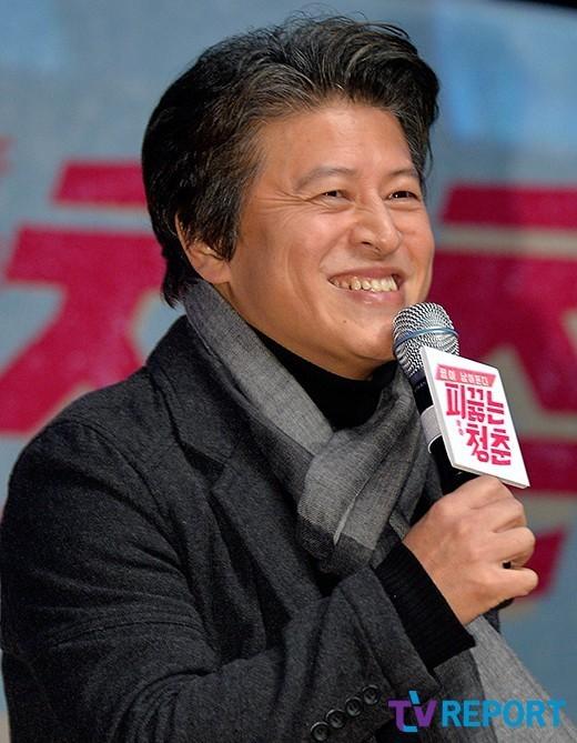 [T포토] 권해효 '푸근한 미소'(피끓는 청춘)