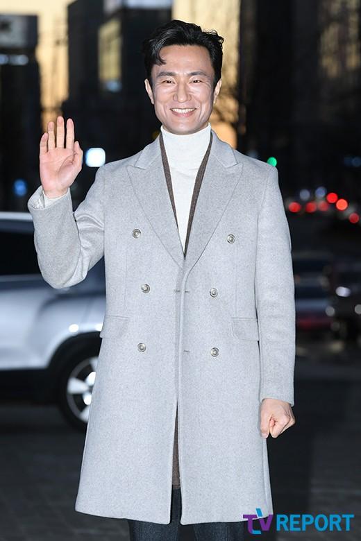 [T포토] 김병철 '서글서글한 미소'