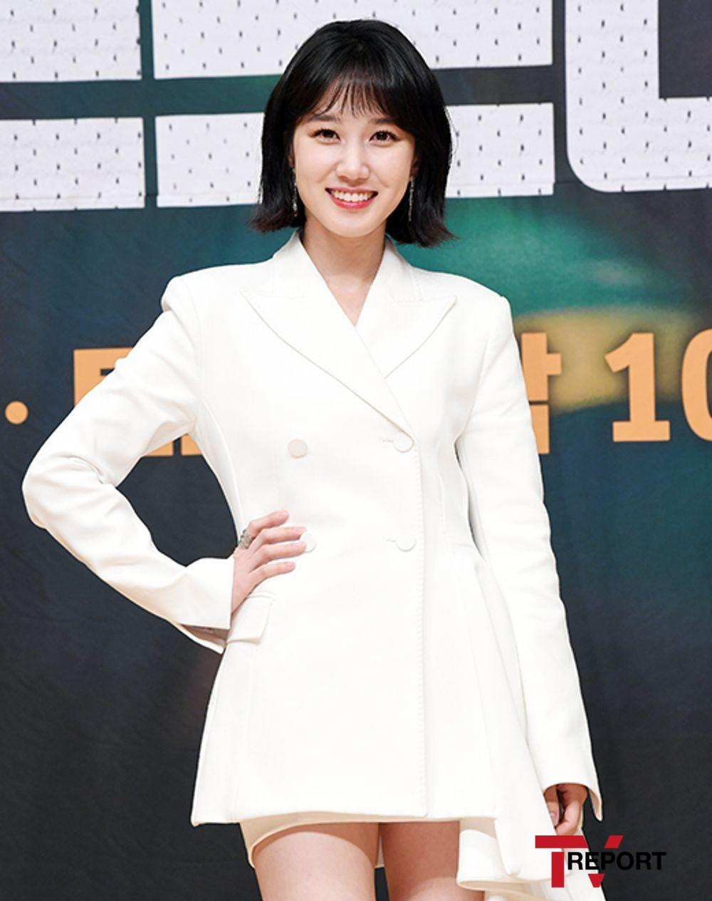 [T포토] 박은빈 '상큼 꽃미소'