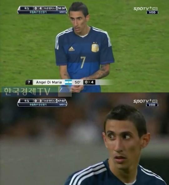 '독일 아르헨티나' 이후 양팀 감독, '1골 3도움' 활약 한 디마리아를 두고 설전