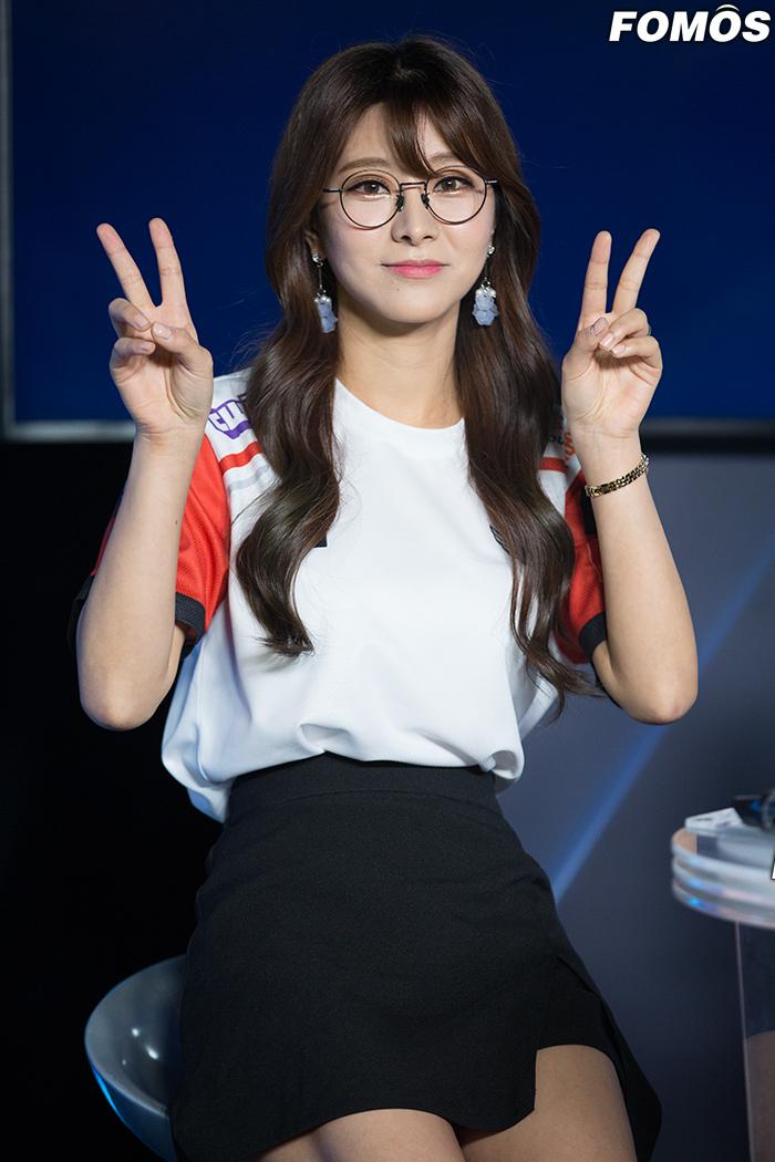 [포토] 롤챔스 김수현 아나운서