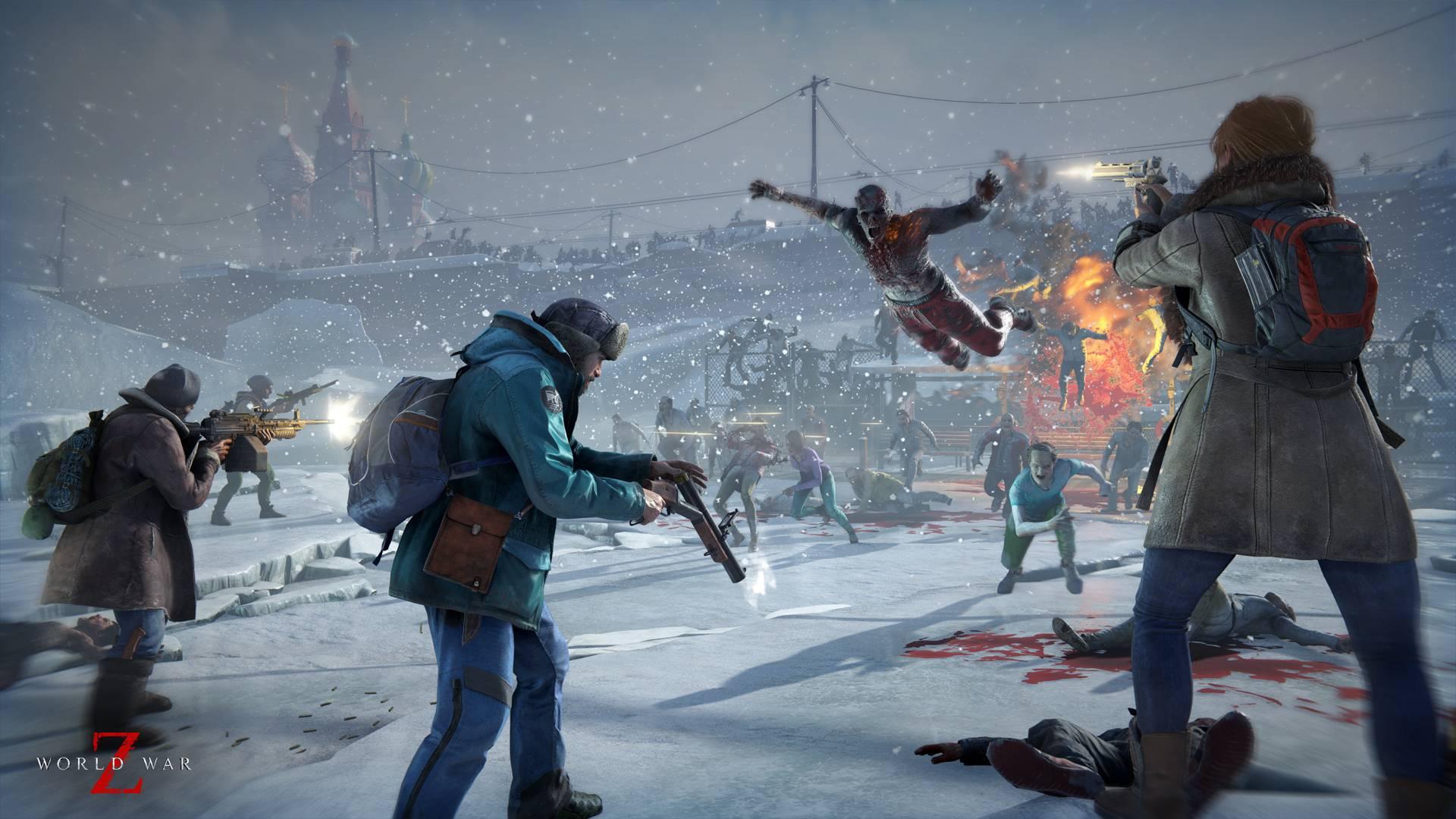 PS4용 슈팅게임 '월드 워 Z' 한국어판 5월 8일 출시