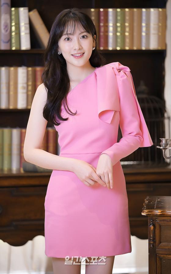 [포토] 강지영 '핑크 요정으로 돌아왔어요'