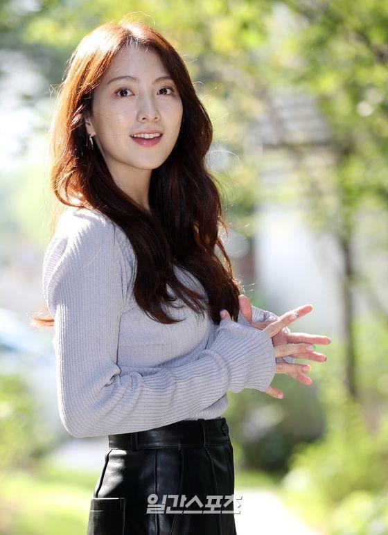 [포토] 강지영 '청순미 탑재한 깜놀'