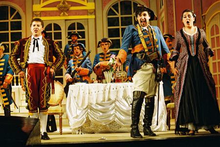 오페라 '세빌리아의 이발사' 공연
