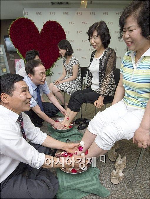 [포토]'변함없는 부부사랑!'