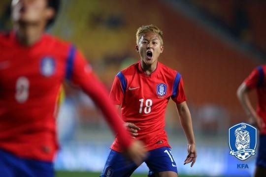 '이승우 선발출전' U-18 대표팀, 우루과이 꺾고 JS컵 첫 승