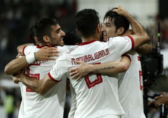 '아시안컵' 이란, 중국 3-0으로 완승…4강전 상대는 일본