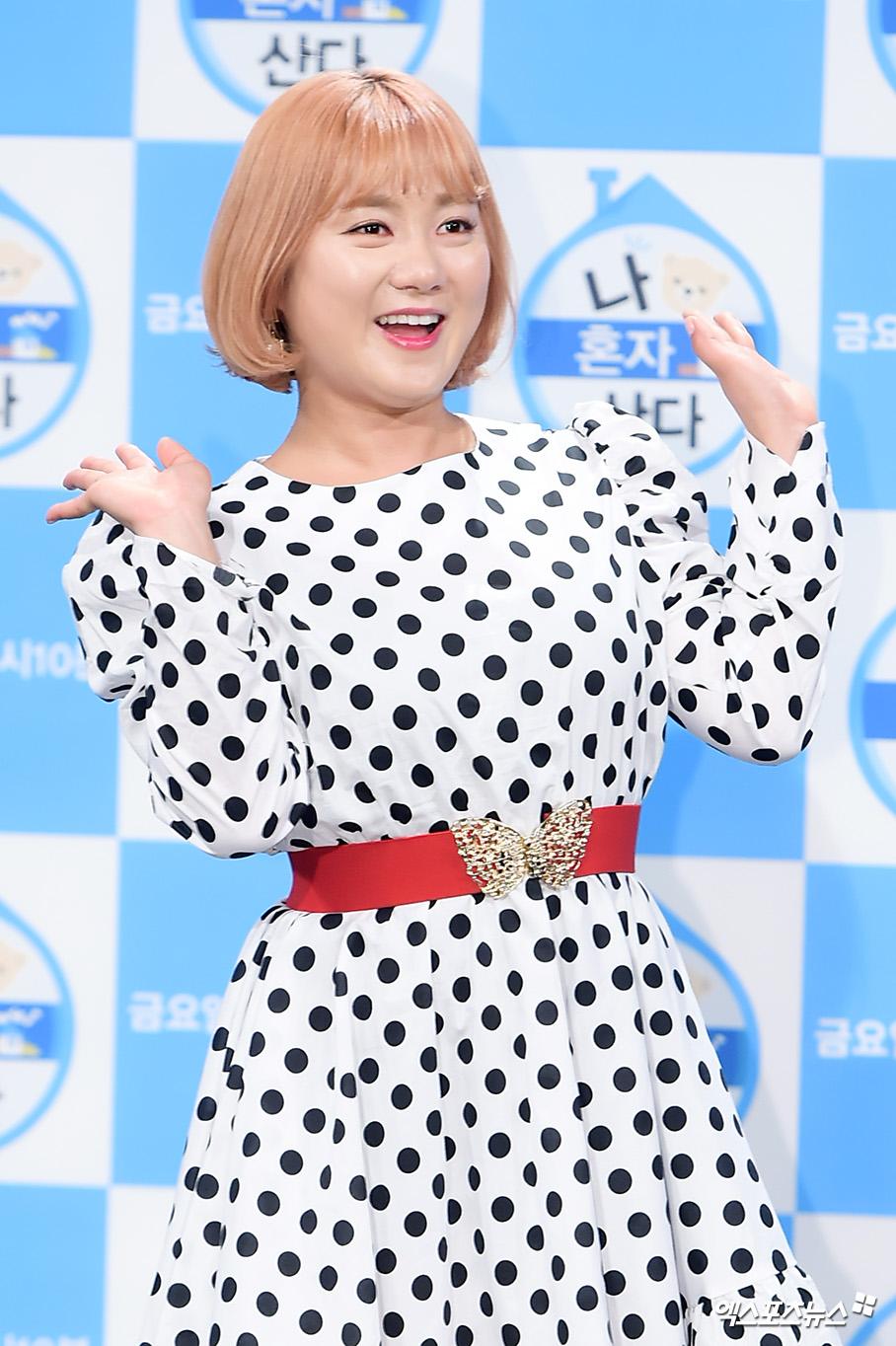 [엑's HD] 박나래 '소녀같은 미소'