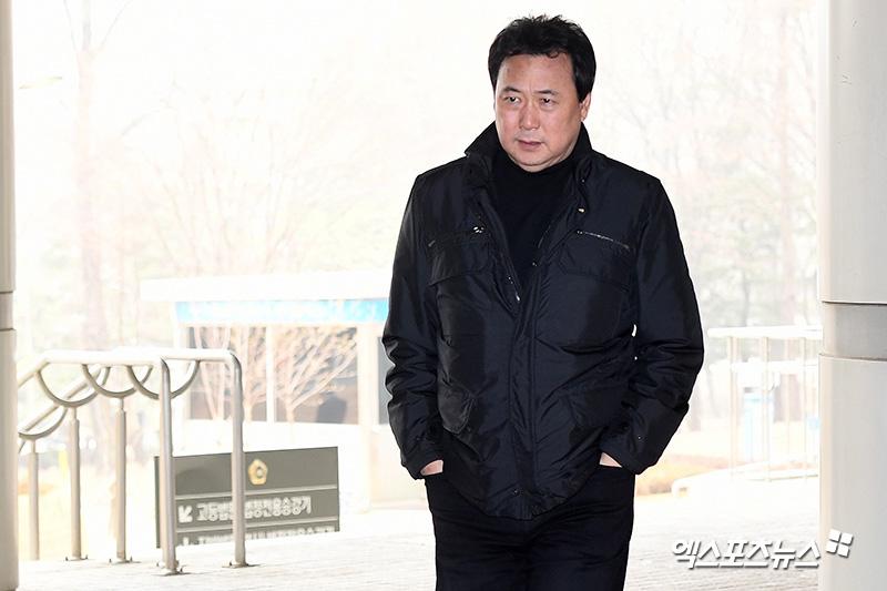 김창환 회장 '착잡한 심정'[엑's HD포토]