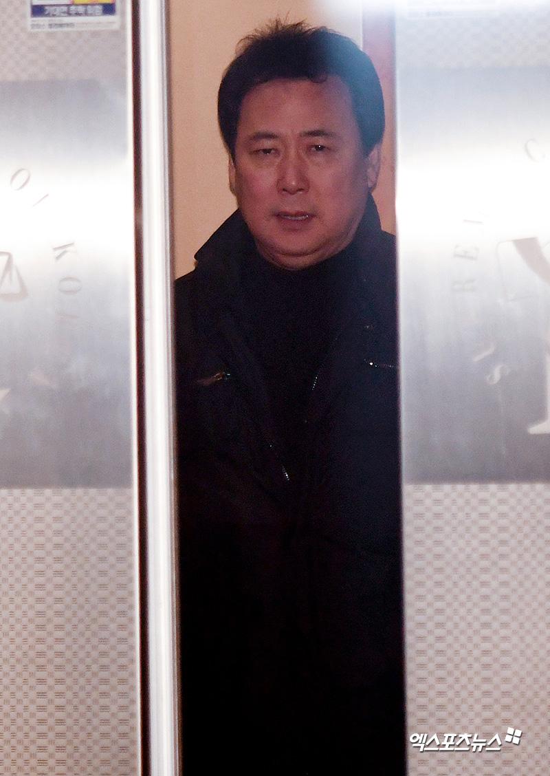김창환 회장 '아동학대 혐의로 법정 출석'[엑's HD포토]