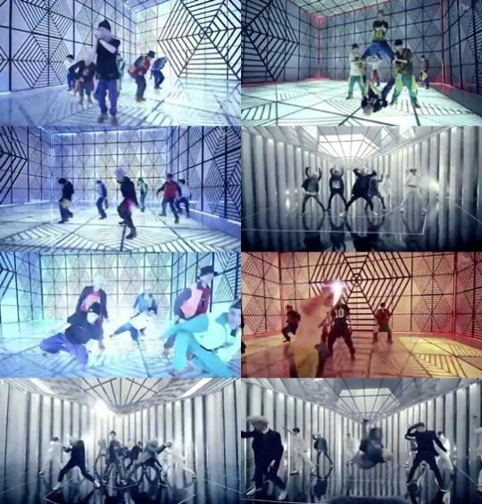 엑소 '중독' 뮤직비디오 속 원테이크 기법