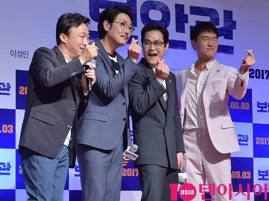 [TEN PHOTO]이성민-조진웅-김선균-조우진 '보안관은 사랑입니다'