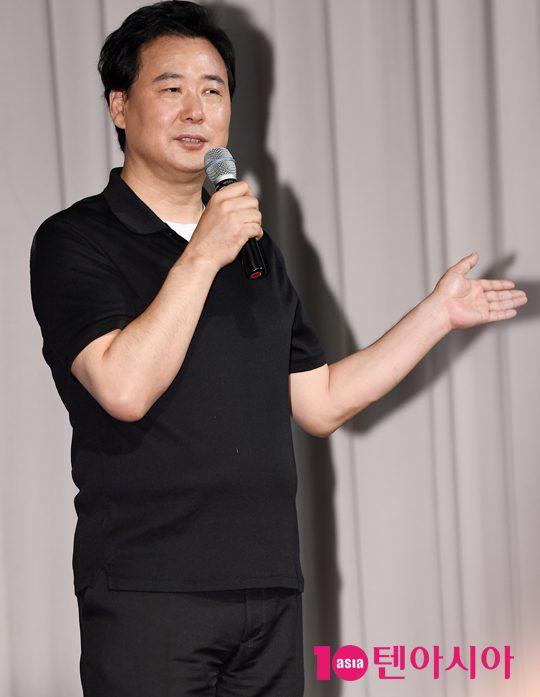 미디어라인 김창환 회장, '더 이스트라이트 사건' 반박 기자회견 개최…