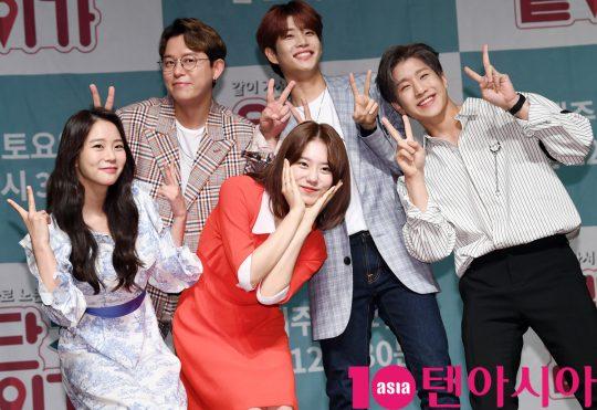 [TEN PHOTO]토니안-한승연-김소혜-아스트로 MJ-진진 '세미여행 '일단 같이 가!' 가자'