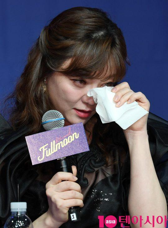 [TEN PHOTO]달천이 응원에 눈물보인 이용신