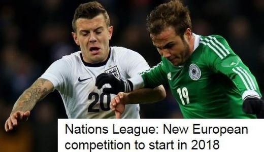 UEFA, 유럽 네이션스리그 승인… 2018년 9월 출범