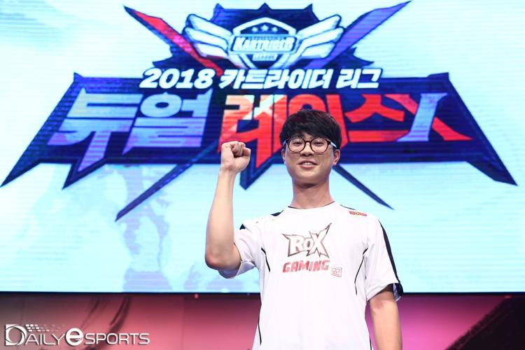 [포토] 카트 리그 챔피언 박인수 '이제는 박인수 시대'