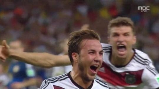 [독일 아르헨티나] 독일 우승 주역 괴체, '특급조커'의 등장