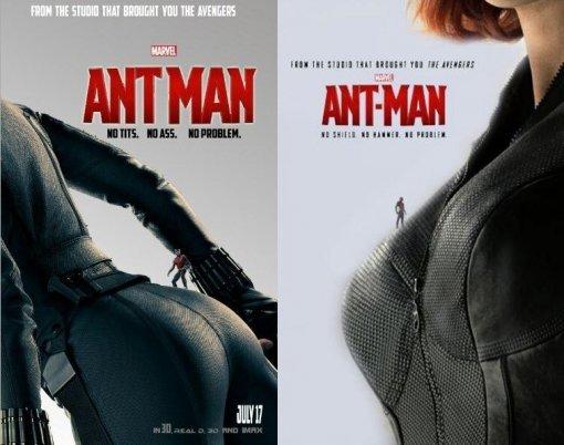 앤트맨 팬 메이드 포스터 화제…섹시+유머 '블랙위도우 버전'