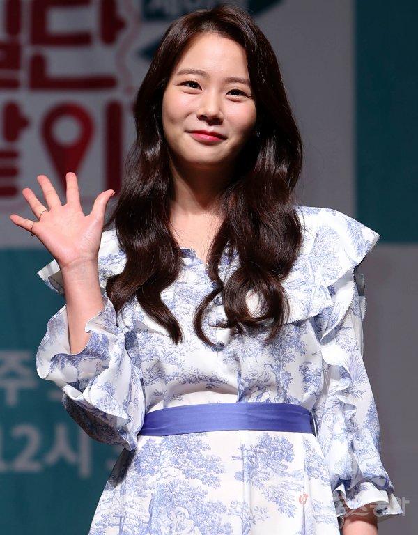[포토] '일단 같이가' 한승연 '사랑스러운 미소'