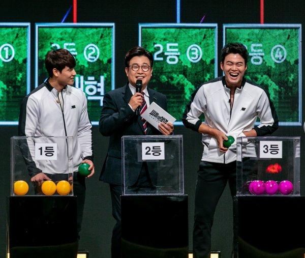 '씨름의 희열' 노범수·손희찬·황찬섭, 탈락자는? 토너먼트 대진 공개
