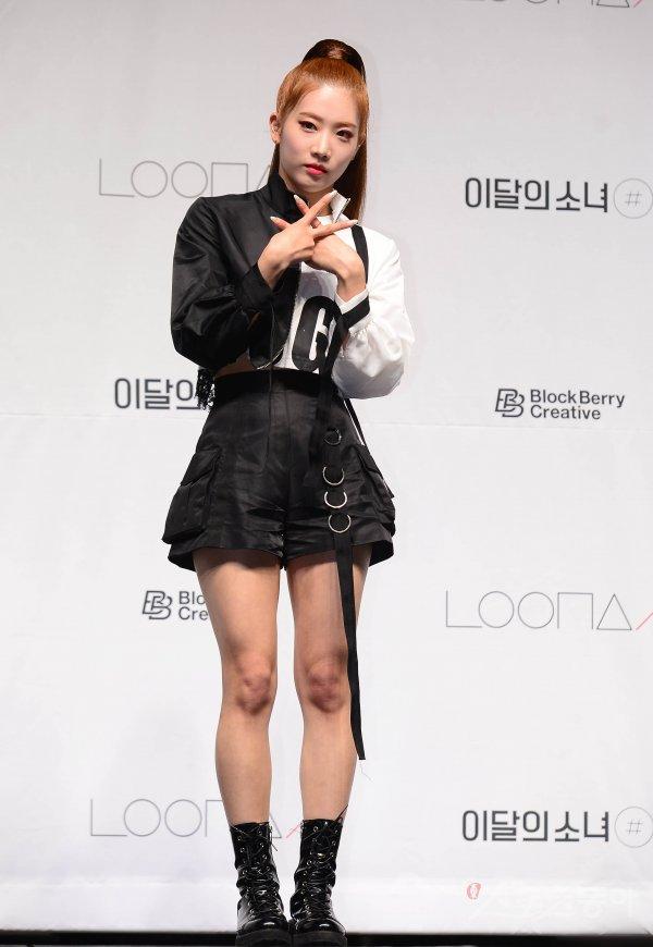 [포토] 이달의소녀 김립 '걸크러쉬 가득'