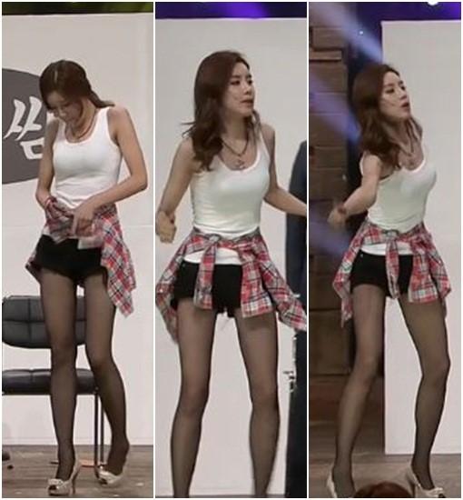 """'코빅' 장도연, 모델 뺨치는 늘씬 각선미 """"눈길"""""""
