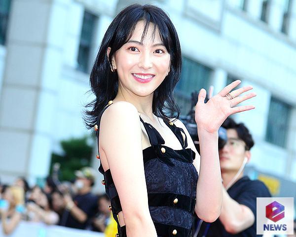 [e포토] 강지영, 심쿵 미소