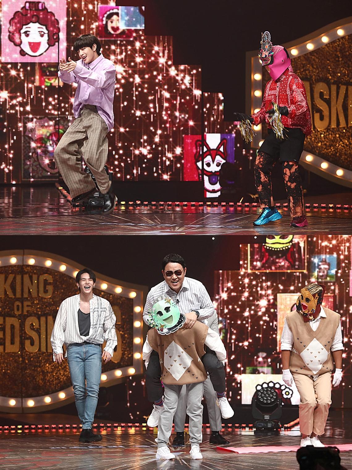 '복면가왕' BTS '다이너마이트' 커버댄스 배틀에 판정단 '포복절도'