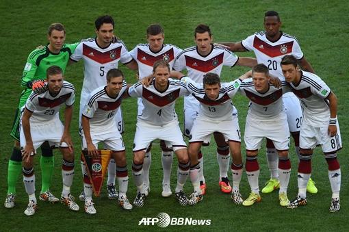 [독일 아르헨티나] `비장한 독일 베스트 11`