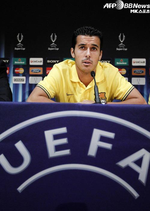 바르셀로나 페드로, UEFA슈퍼컵 2번째 연장결승골