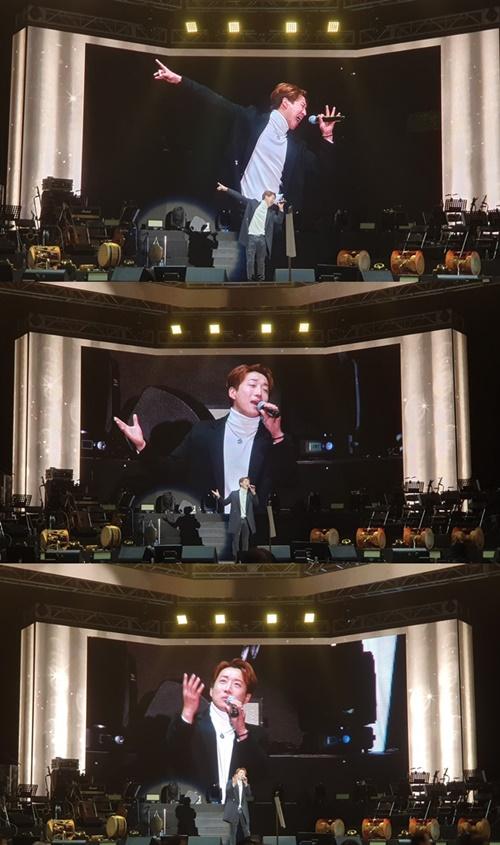 김경현, '미스트롯' 인천 콘서트 오프닝 장식