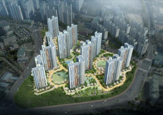 GS건설, 대전 복수센트럴자이 1102가구 이달 분양