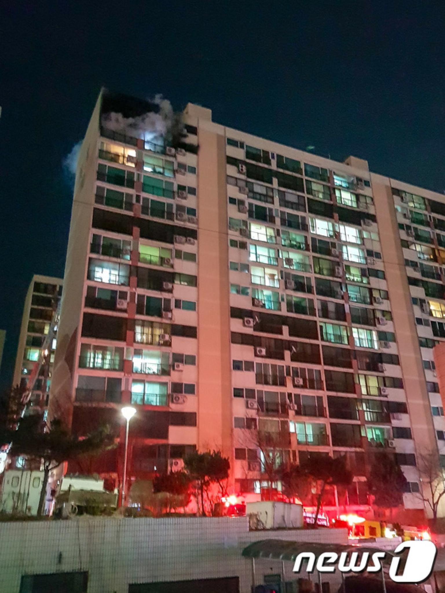 서울 은평구 아파트 화재…1명 사망·2명 중상