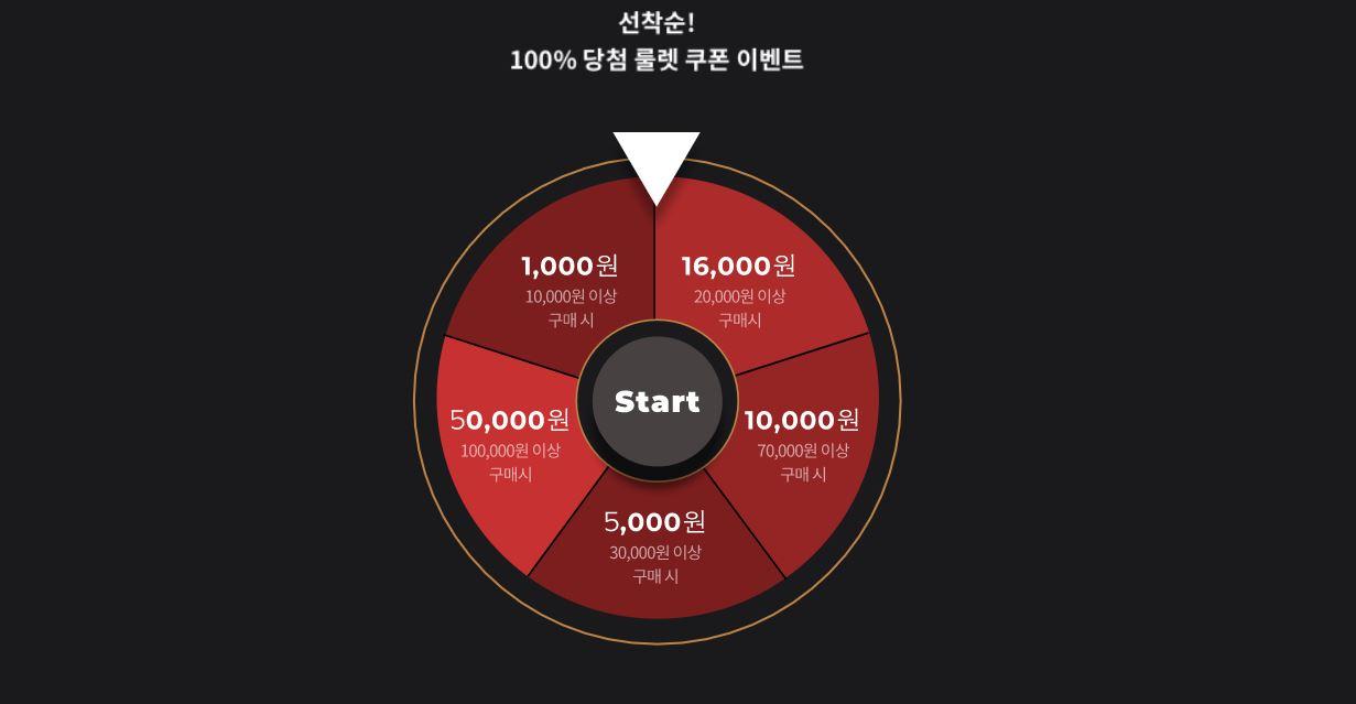 '스타일쉐어 블랙스쉐데이' 검색하면 최대 5만원 쿠폰이?