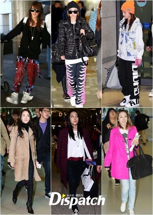 Sandara Park fashion