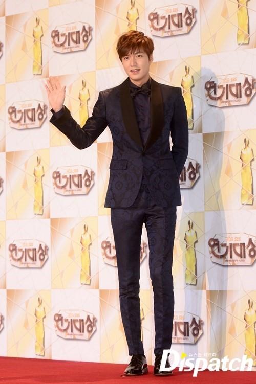 Lee Min Ho K�rm�z� Hal�da 01/01/2014