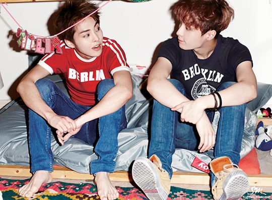 Baozi Xiumin an... Xiumin And Lay