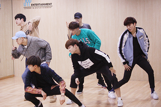 A class for GOT7's 'Fly' point dances