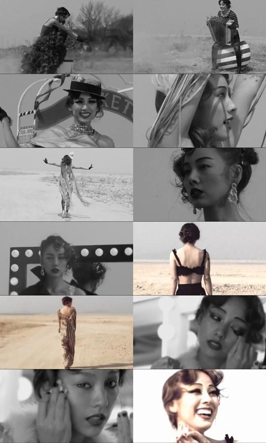 이효리, 담배 든 '쇼걸' 변신…신곡 일부 공개