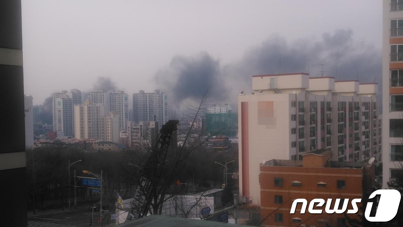 인천 간석동 신축공사 현장서 불…