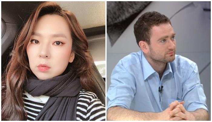 '곽정은 열애설' 다니엘 튜더, 뜨거운 관심..그는 누구?