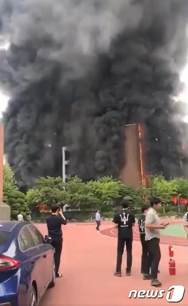 서울 은평구 초등학교에서 화재 발생