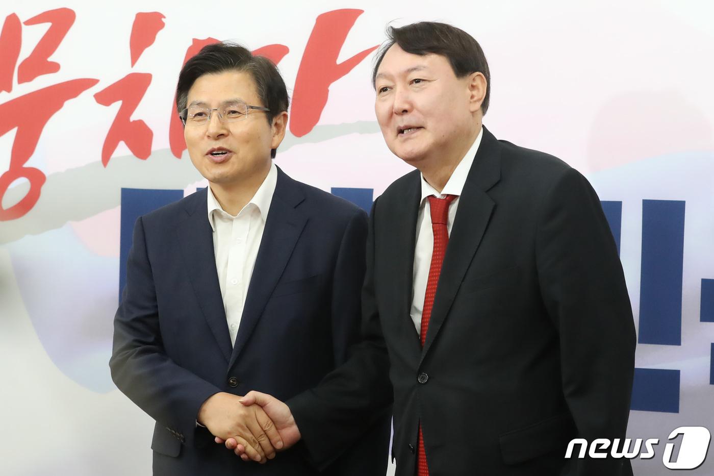 윤석열 만난 한국당, 균형 있는 인사-공정한 수사 당부(종합)