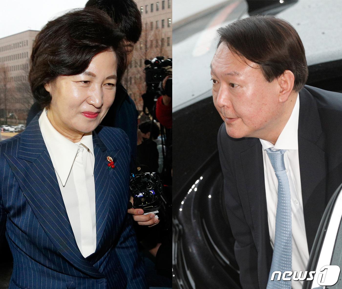 추미애-윤석열 檢개혁 환담만…인사 질문엔 말아껴(종합3보)