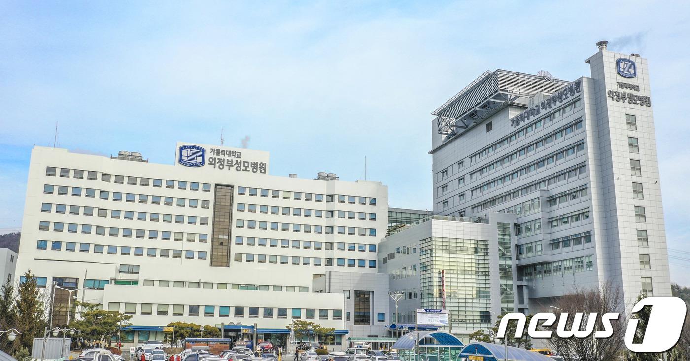입원 82세女 확진 의정부성모병원 8층 병동 폐쇄
