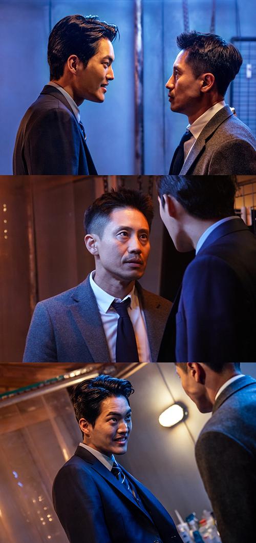 '나쁜형사' 나쁜형사 신하균 VS 살인마 김건우, '일촉즉발' 맞대면