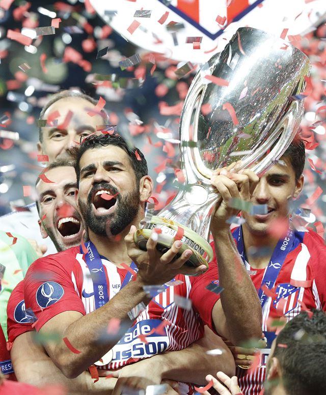 AT마드리드, 호날두 없는 레알 꺾고 UEFA 슈퍼컵 우승