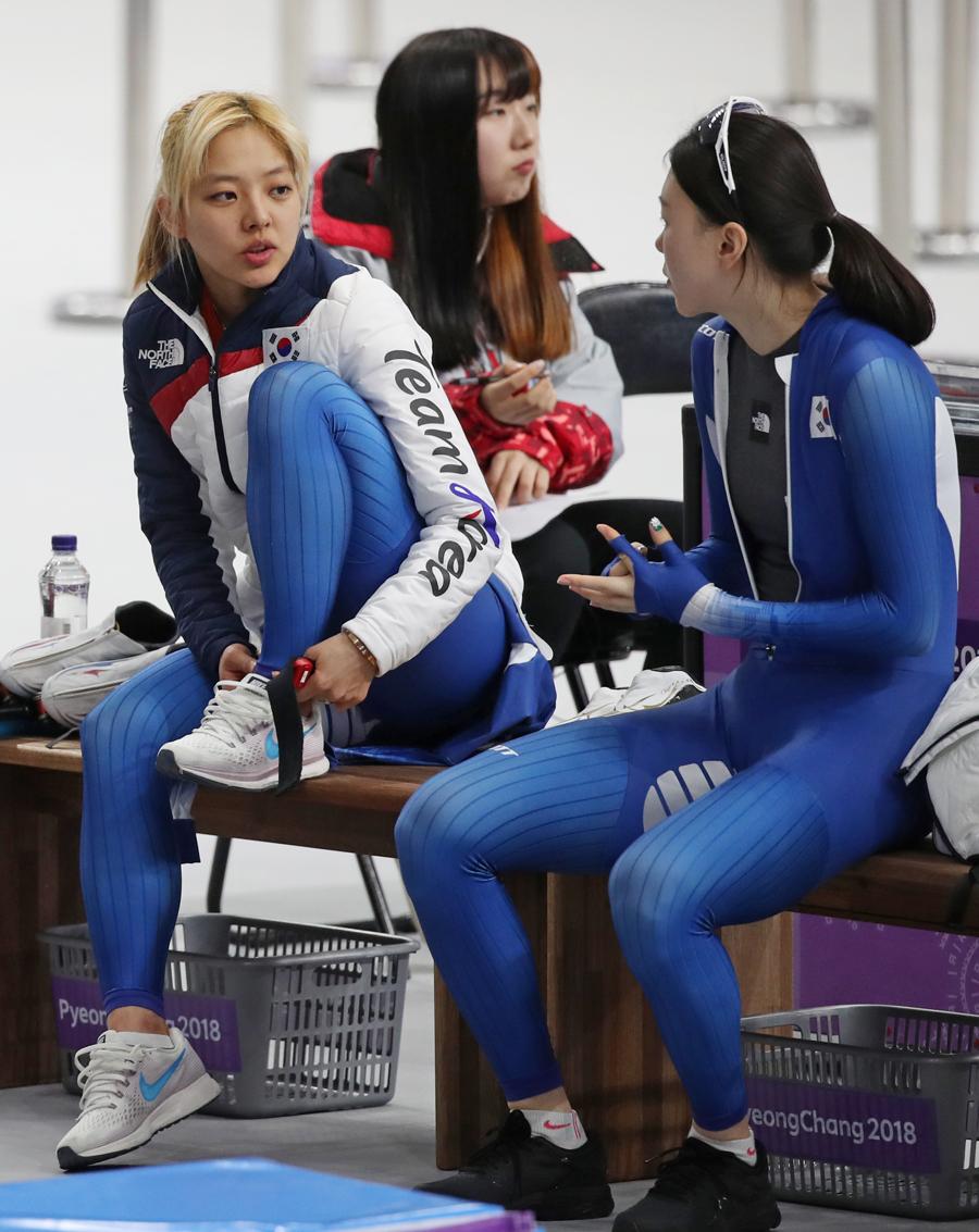 [올림픽] 팀추월, 이번에는 '투게더 레이스' 상반된 갈등은 좁혀질까